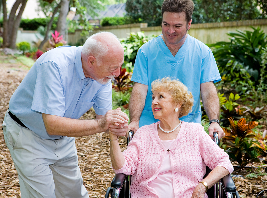 Seniors and Caregiver in Chapel Hill NC